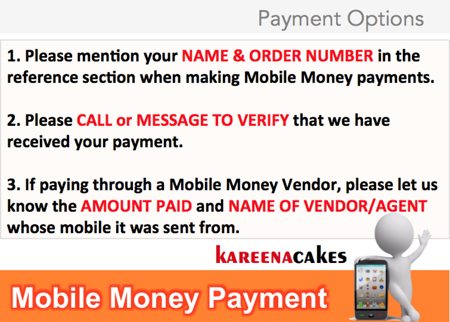 PAYMENT MOBILE MONEY 2